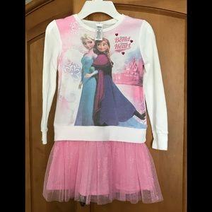 ❄️ Anna and Elsa ❄️ kids dress